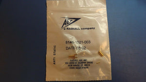 (1PC) 8146-1521-003 AEP PANEL MOUNT, CABLE TERMINATED, RF CONNECTOR, CRIMP
