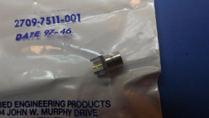 (3PC) 2709-7511-001 AEP BOARD TERMINATED, MALE, RF CONNECTOR, SOLDER