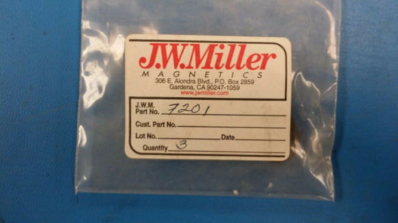 (1 PC) 7201 JW MILLER Board Mount Current Sensors 5mH 10A