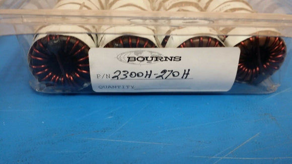 (4 PCS) 2300HT-270H JW MILLER (BOURNS) Fixed Power Inductors 27uH 15%