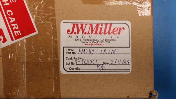 (5 PCS) PM2110-2R2M JW MILLER (BOURNS) Fixed Power Inductors 2.2uH 20%