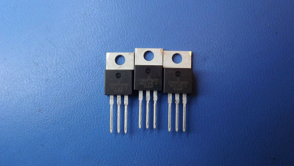 (3PCS) LXA08T600C QSPEED Diode Switching 600V 8A 3-Pin(3+Tab) TO-220AB