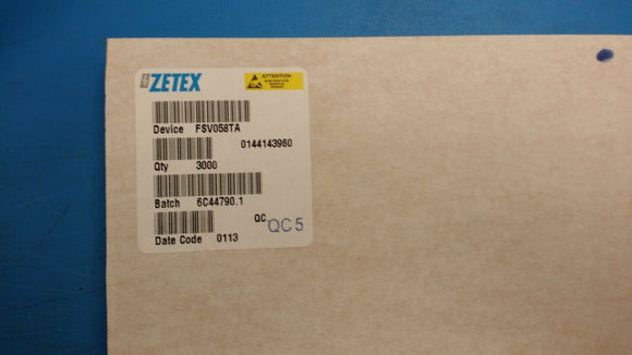 (10 PCS) FSV058TA ZETEX SEMICONDUCTOR DEVICE SMD