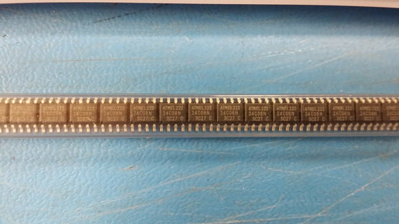 (25 PCS) AT24C08N-10SC-2.7 ATMEL EEPROM, 1KX8, Serial, CMOS, SOIC-8