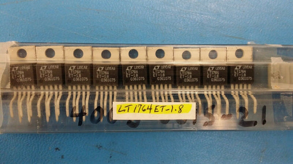(1 PC) LT1764ET-1.8 IC REG LINEAR 1.8V 3A TO220-5