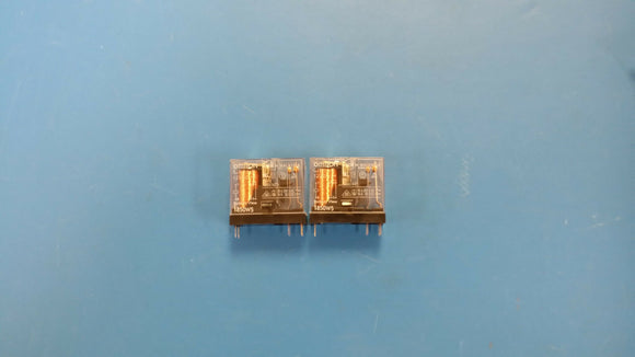 (5 PCS) G2R-1A-E-DC12 OMRON POWER RELAY SPST-NO 12VDC 16A