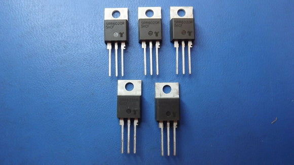 (5PCS) SRR6020RTP LITTELFUSE SCRs 20A TO-220