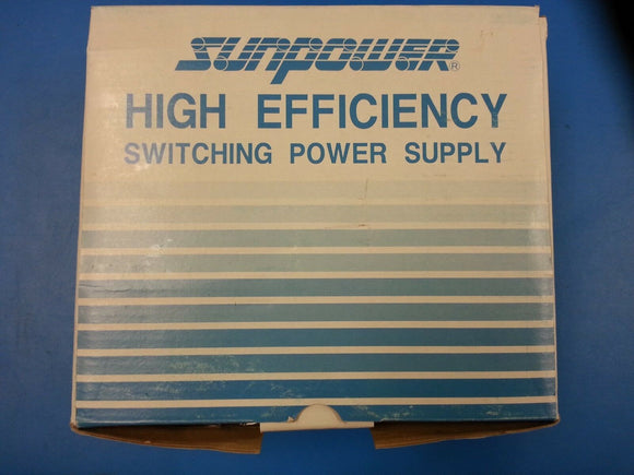 SPQ-4250 250 Watt Sunpower High-Efficiency Switching Power Supply