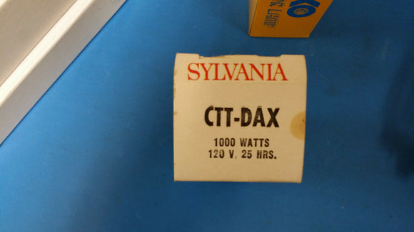 CTT/DAX 1000W 120 25HRS PROJECTION LAMP