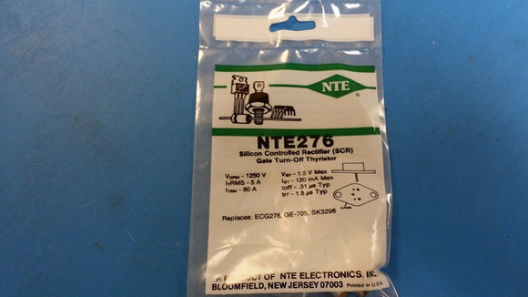 (1 PC) NTE276, ECG276, GE-705, SK3296, Silicon Controlled Rectifier (SCR) Gate