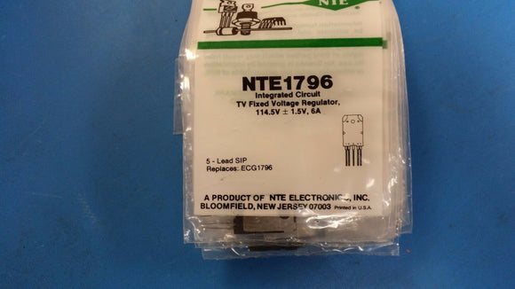 (1 PC) NTE1796, ECG1796, Integrated Circuit, Hybrid Switching Voltage Regulator
