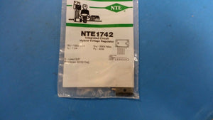 NTE1742, ECG1742, Integrated Circuit, TV Fixed Voltage Regulator