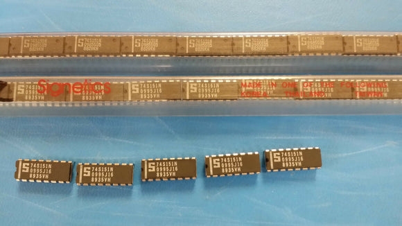 (2PCS) 74S151N  8 to 1-Line Data Selector/Multiplexer 16P DIP TRIMMED