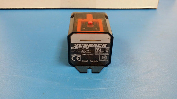 (1PC) RM835730 General Purpose / Industrial Relays DPDT 25A 230VAC POWER RELAY