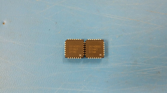 (2 PCS) DS14285QN DALLAS Real Time Clock Multiplexed 114Byte 28-Pin PLCC