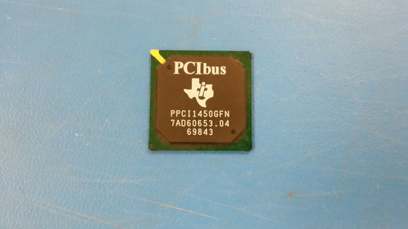 (1 PC) PCI1450GFN TEXAS INSTRUMENTS PCMCIA BUS CONTROLLER, PBGA256