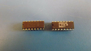 (2PCS) ADM691AN Processor Supervisor 4.65V 4.75V to 5.5V 16-Pin PDIP