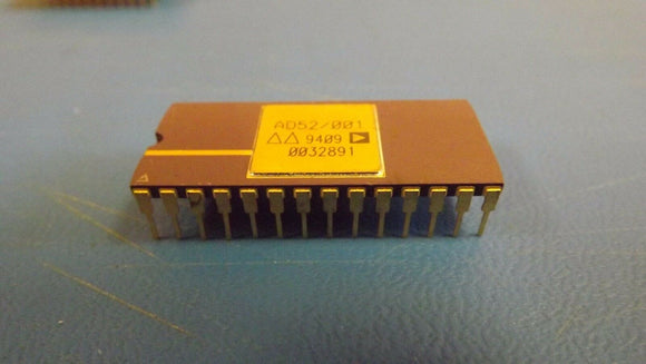 (1PC) AD52/001 ANALOG DEVICES 28PIN DIP GOLD LEAD