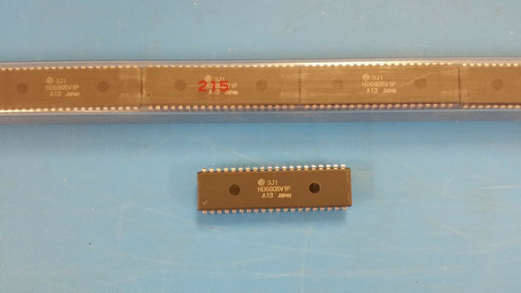(1 PC) HD6805V1P HITACHI 8-BIT OTPROM 1MHz MICROCONTROLLER PDIP40