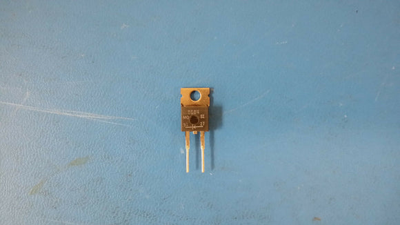(5 PCS) TG84 MICROSEMI 8A 400V SILICON RECTIFIER DIODE TO-220 2PIN