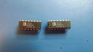 (2PCS) AD8801AN ANALOG DEVICES DAC 8-CH R-2R 8-bit 16-Pin PDIP