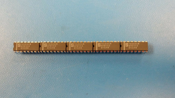 (10 PCS) 74LS151N SIGNETICS IC 8-1 DATA SELECTOR/MUX 16-DIP