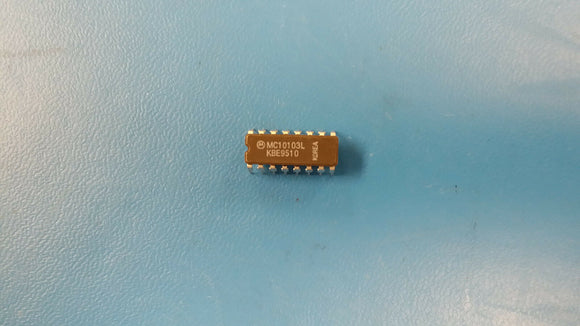 (2 PCS) MC10103L MOTOROLA QUAD 2-INPUT OR GATE CDIP16