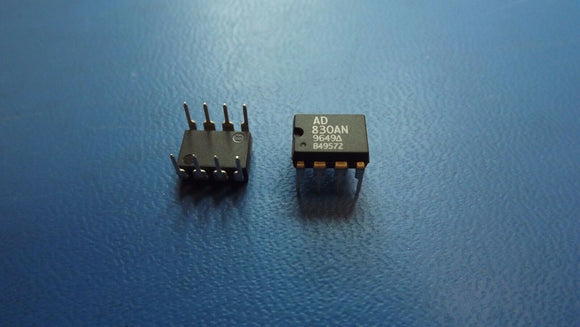 (1PC) AD830AN Video Amp Single 85MHz ±16.5V 8-Pin PDIP
