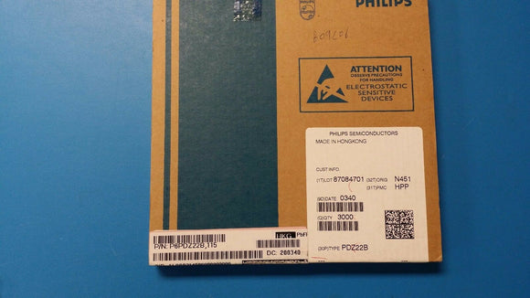 (25 PCS) PDZ22B,115 PHILIPS Diode Zener Single 22.005V 2% 400mW 2-Pin SOD-323