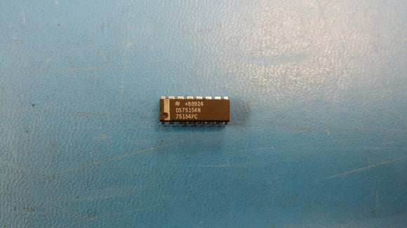(2 PCS) DS75154N NSC QUAD LINE RECEIVER, PDIP16