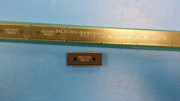 (1 PC) SSI570PE IC 28PIN PLASTIC DIP VINTAGE OBSOLETE