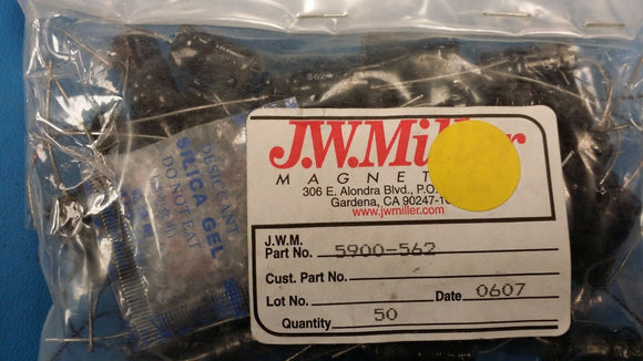 (5 PCS) 5900-562 JW MILLER Fixed Power Inductors 5.6mH 10%