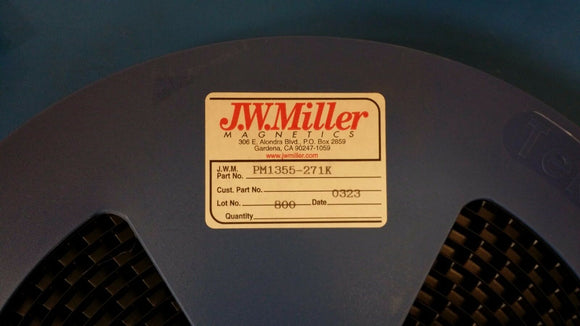 (10 PCS) PM1355-271K JW MILLER Fixed Power Inductors 270uH 10%