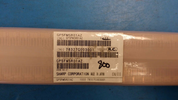 (5 PCS) GP5FM5R01AZ SHARP FIBER OPTICS OPTICAL RECEPTION DEVICE ROHS