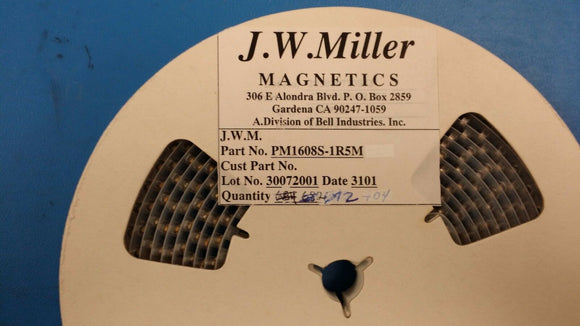 (10 PCS) PM1608S-1R5M JW MILLER Fixed Power Inductors 1.5uH 20%