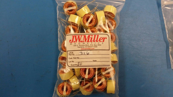 (1 PC) 7116 JW MILLER Common Mode Chokes / Filters 6.8mH 2amp