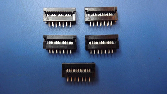 (10PCS) CA-14IDSL-1T 14 CONTACT(S), STRAIGHT TWO PART BOARD CONNECTOR