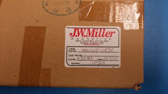 (2 PCS) PM2120-2R7M JW MILLER (BOURNS) Fixed Power Inductors 2.7uH 20%