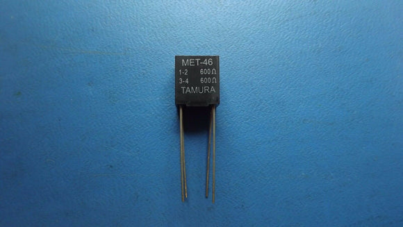 (1PC) MET-46 Audio Transformers / Signal Transformers 600 Pri./600 Sec.