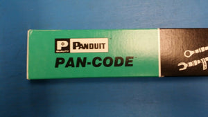 ( PK OF 5 CARDS) PCM-13 PANDUIT Wire Identification 1.5 VINYL CLOTH #13