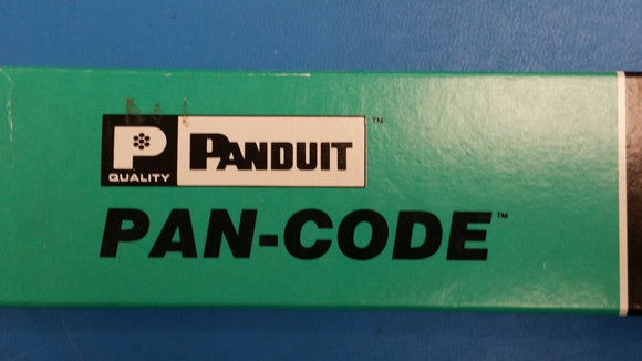 ( PK OF 5 CARDS) PCM-29 PANDUIT Wire Identification 1.5 VINYL CLOTH #29