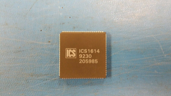 (1 PC) ICS1614 INTEGRATED CIRCUIT SYSTEMS 84 PIN PLCC
