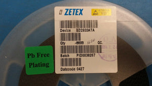 (10PC) ZC933ATA ZETEX Diode VAR Cap Single 12V 42pF 3-Pin SOT-23 (0427 D/C) ROHS