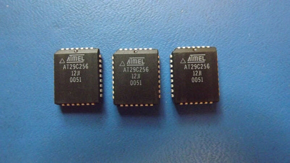 (3PCS) AT29C256-12JI ATMEL IC FLASH 256KBIT 120NS 32PLCC