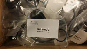(1 PC) UTS14DCG Souriau CONN SEALING COVER SIZE 14 BLACK ROHS