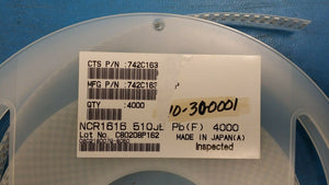 (10) 742C163510JP Res Thick Film Array 51 Ohm 5% 0.5W(1/2W) ±200ppm/C ISOL ROHS