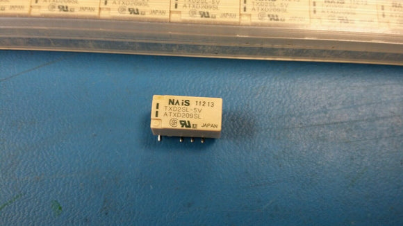 (1 PC) TXD2SL-5V PANASONIC Low Signal Relays - PCB 2 Form C 2A 30VDC 5VDC