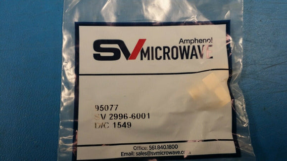 (5PC) 2996-6001 SV MICROWAVE RF MIL Spec Connectors SMA Fml-Male-Fml Tee Adapter