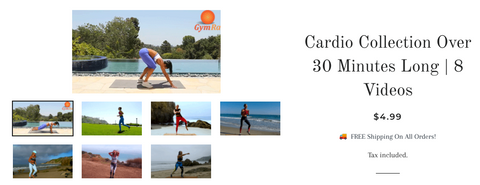 Person - 30 min Cardio Blast Workout By Fiona