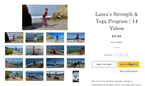 Person - 30 min Core & Glute Bodyweight Exercises By Laura